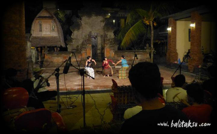 Recording CD Gamelan Cendana with Ni Ketut Arini