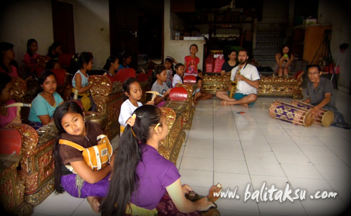 Saxophone and Gamelan