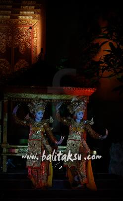 Legong Sri Sedana composed by Guruh Soekarno Putra 2007 in Peliatan Village Ubud Bali