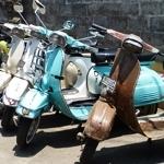 20140927 Kampung Wisata scooter transport