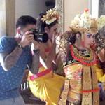 20150308 Dewi Sri Shooting at BTS (Bebek Tepi Sawah, Ubud)