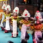 Sisia Jegeg & Ngreh Dance 2015 Oct Pura Desa Peliatan Temple