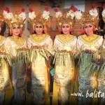 lambang sari. tari penyambutan - kind of balinese dance / jenis tari bali