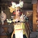 tari Legong Semarandhana Dance at Pura Agung Peliatan with Dewi Sri 26th Mar 2013