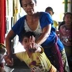 Joint Rehersal at Balerung Stage - Tunas Maragawi Br.Kalah Peliatan Ubud