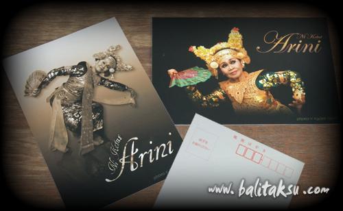 Ni Ketut Arini Japan Tour Official Post Card