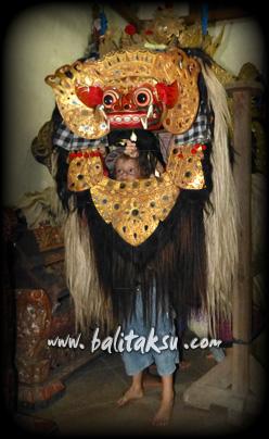 Barong - Balerung Stage Peliatan.