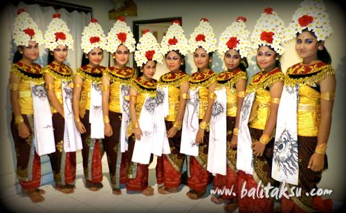 How to make balinese dance costumes (sisia dancer)