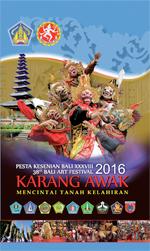 Bali ArtsFestaval XXXVIII 2016 Program