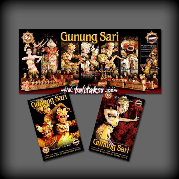 -The Signboard of Gunung Sari Performance