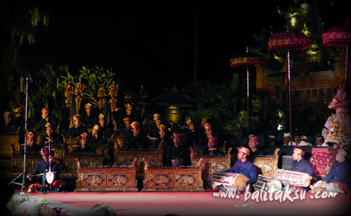 our balinese gamelan group