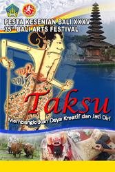 Bali ArtsFestaval XXXV 2013 Program