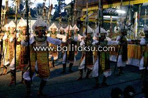 Tari Baris Gede Dance