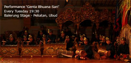 Genta Bhuana Sari - Peliatan Ubud Bali : Balinese Gamelan Group
