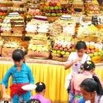 Odalan Pura Madya Br.Tengah Peliatan 6th Oct 2014 - Seka Gong Gurnita Sari Br.Kalah