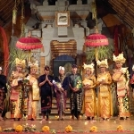 Legong Nandira Indra Maya 25th Jan 2015 Genta Bhuana Sari