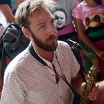 willow neilson Saxophone and Gamelan Tunas Maragawi AUG 2015