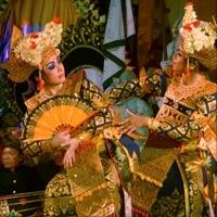 Legong Sri Padma - Tari Legong Sri Padma Dance, Peliatan Ubud. Dancer Sanggar Sri Padma, Gamelan Dewi Sri