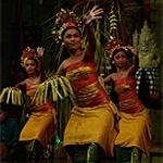 Pendet Peliatan, kind of balinese dance - jenis tari bali