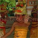 Jenis Tari Bali (Rejang - Wali) / kind of balinese dance